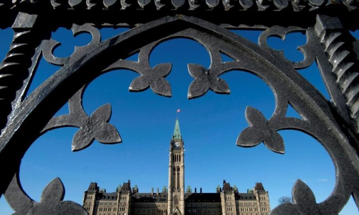 A file photo of Parliament Hill in Ottawa, Canada. (The Canadian Press)