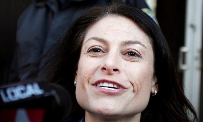 Dana Nessel, then a private attorney, in Detroit, Mich., on Oct. 16, 2013. In 2018 Nessel was elected Mich. attorney general. (Bill Pugliano/Getty Images)