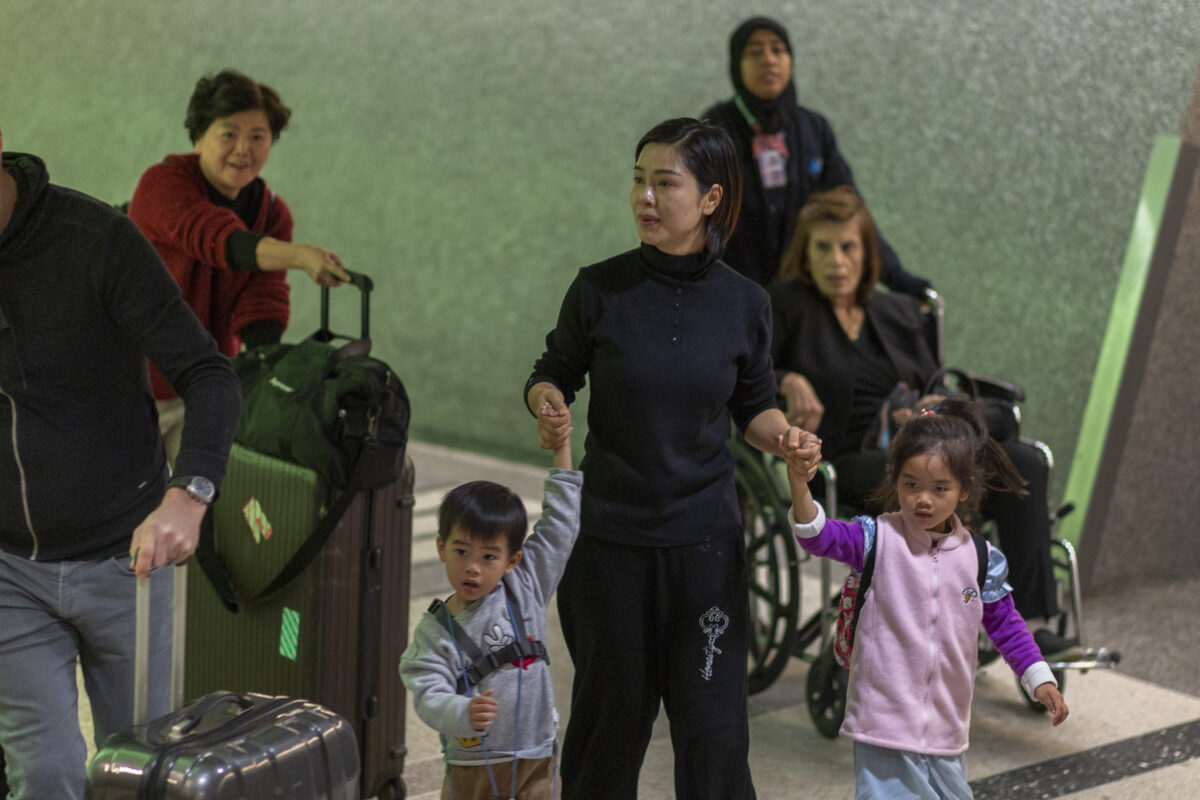 passengers from wuhan
