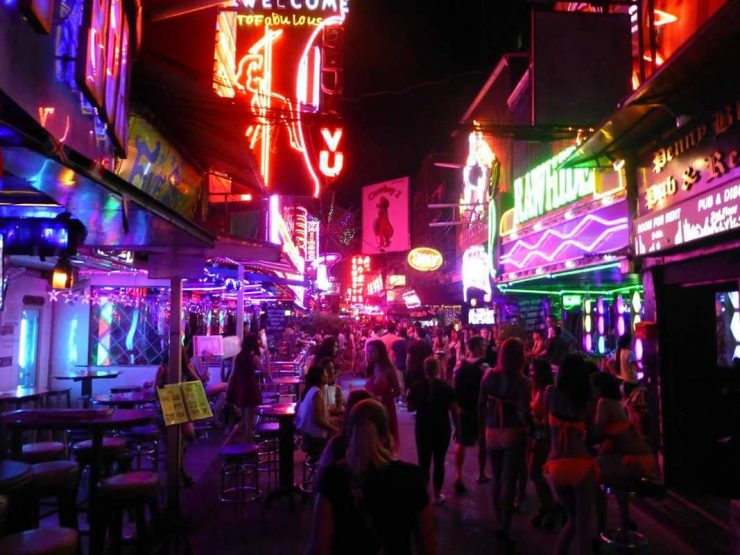 Thailand Red Light District