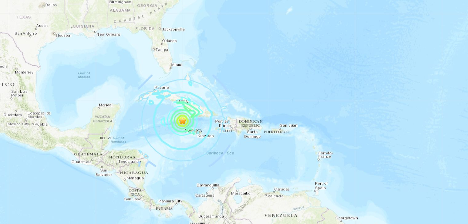 Tsunami Warning Issued After 7.7 Magnitude Earthquake Hits Near Jamaica, Cuba