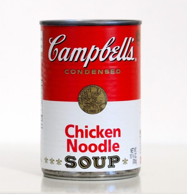 Campbell condensed Chicken Noodle soup