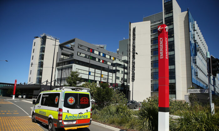 General view of Gold Coast University Hospital in the Gold Coast, Australia, Sept. 11, 2014. (Chris Hyde/Getty Images)