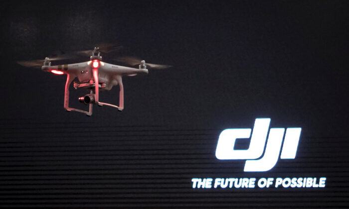 The DJI Phantom 3, a consumer drone, takes flight after it was unveiled at a launch event in Manhattan, New York on April 8, 2015. (Adrees Latif/Reuters)