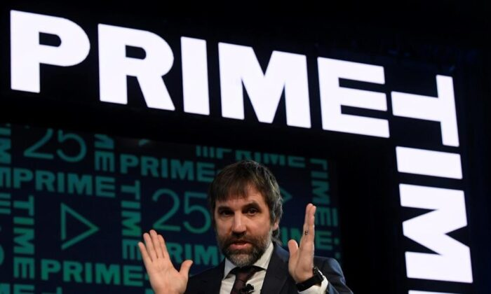 Minister of Canadian Heritage StevenGuilbeaultspeaks during a discussion at the Prime Time 2020 conference in Ottawa on Jan. 30, 2020. (The Canadian Press/Adrian Wyld)