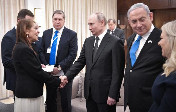 ISRAEL-RUSSIA-DIPLOMACY