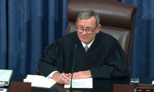 John Roberts Blocks Rand Paul's Question During Impeachment Trial