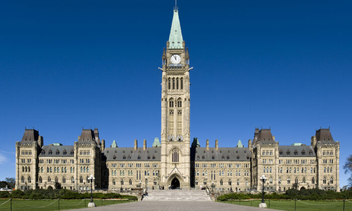 The Canadian Multiculturalism Act was passed in 1988, aiming to preserve and enhance multiculturalism in Canada. The Canadian Parliament in Ottawa on Sept. 24, 2013. (Saffron Blaze via Mackenzie.co)