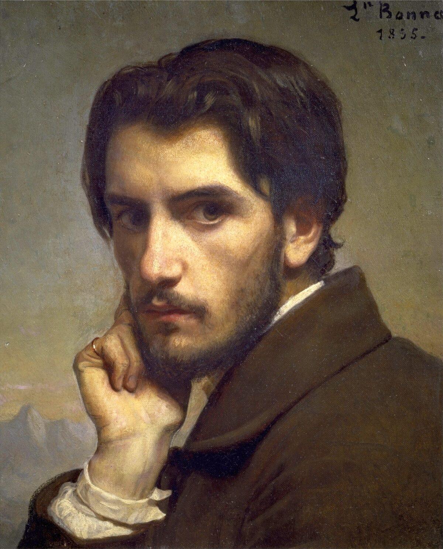 self portrait of Léon Bonnat