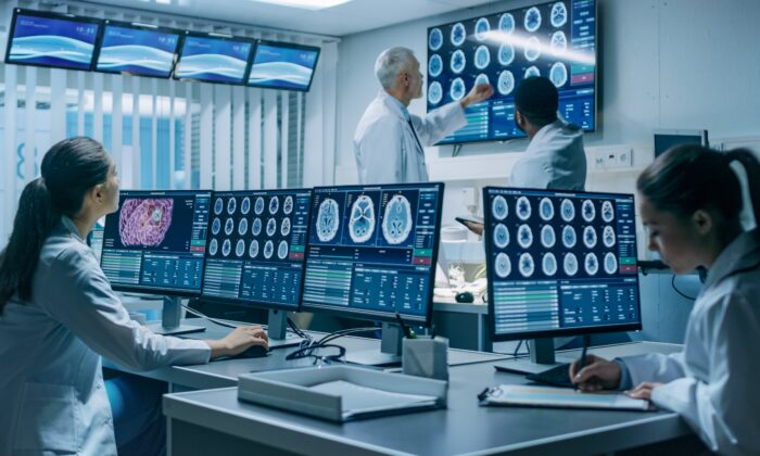 Artificial intelligence is being used to interpret various medical imaging products, but the technology can error prone. (Gorodenkoff/Shutterstock)