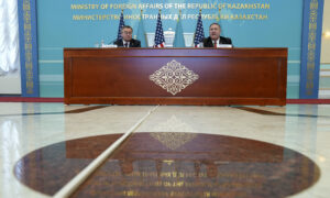 Pompeo, in Kazakhstan, Warns of China's Growing Reach, Calls for Greater Economic Cooperation