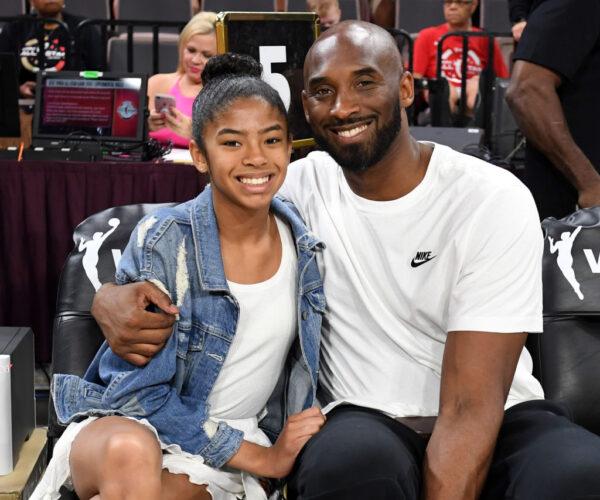 Gianna Bryant and Kobe Bryant