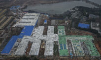 Footage of New Military-Operated Coronavirus Hospital in Wuhan Reveals Prison-Like Environs