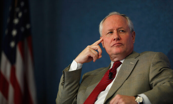 William Kristol at the National Press Club in Washington on Oct. 3, 2011. (Chip Somodevilla/Getty Images)