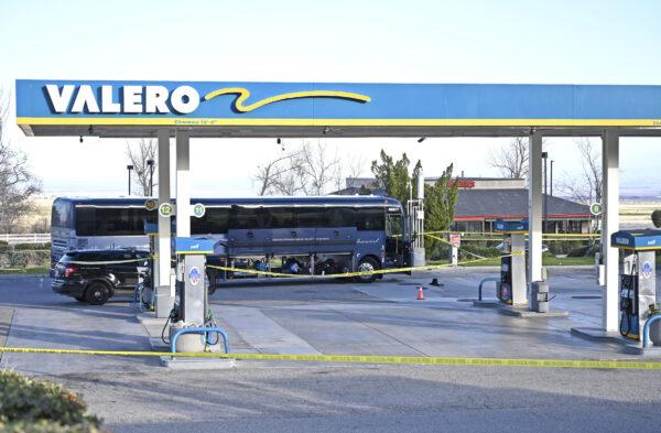 Bus Shooting California