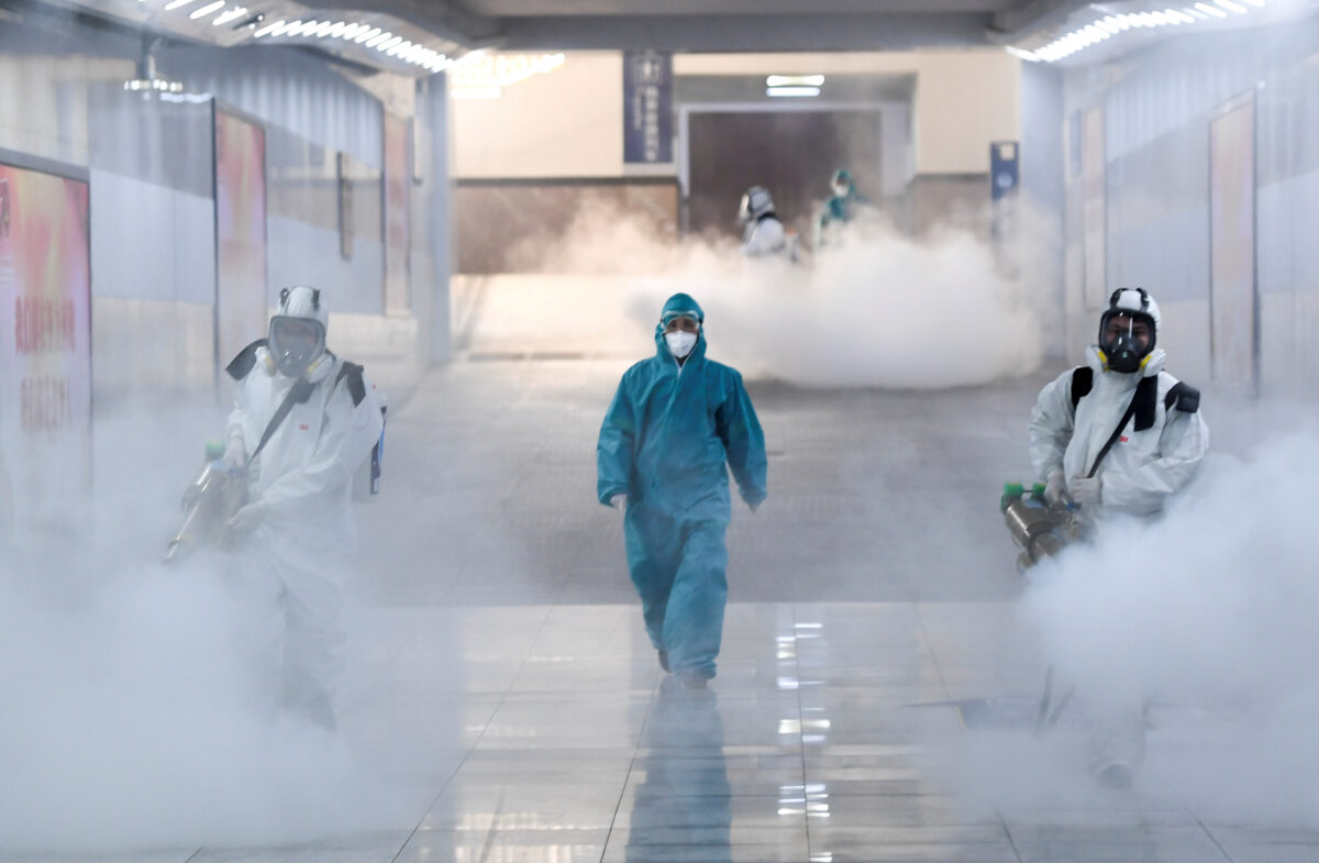 Chinese Officials Warns of Aerosol Infection as Coronavirus Spreads