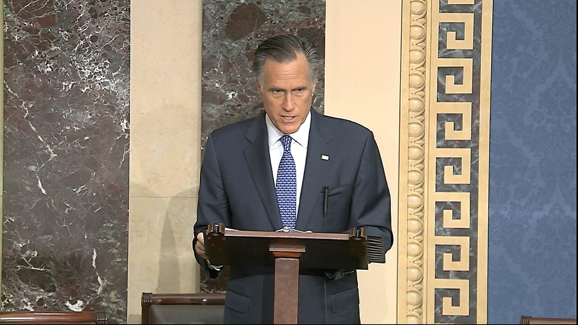 Sen. Mitt Romney (R-Utah)