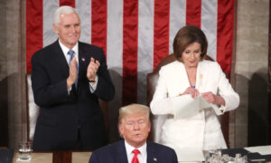 Pelosi Does Her Best to Reelect Trump at State of the Union