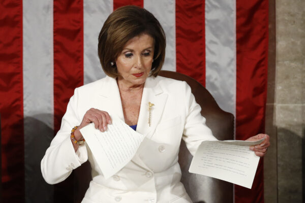 Pelosi rips Trump's speech