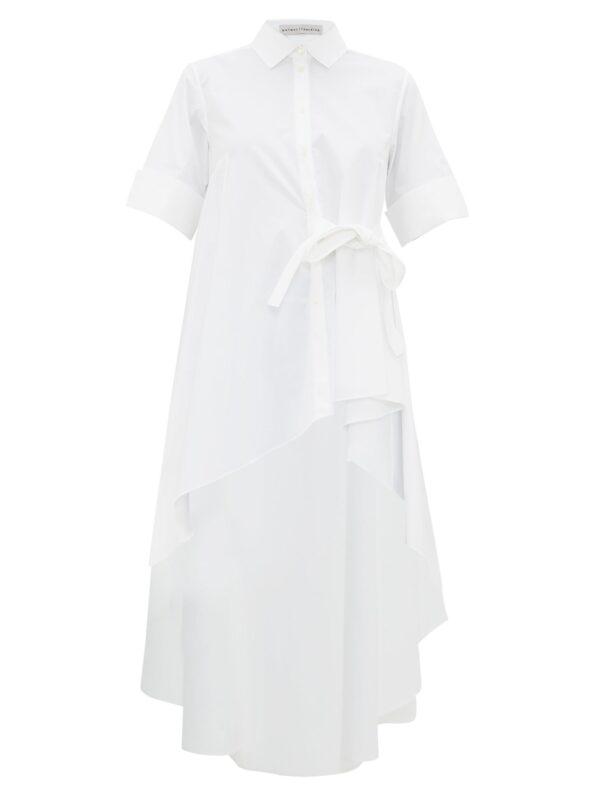 Super Asymmetric Cotton-blend Shirt by palmer