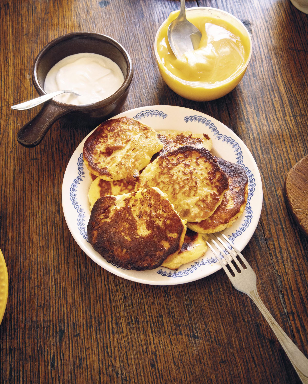 farmers cheese pancakes