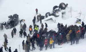 Death Toll in Turkey Avalanche Disaster Rises to 41