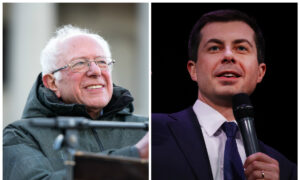 Sanders, Buttigieg Neck and Neck in Iowa Caucus With Nearly All Results In