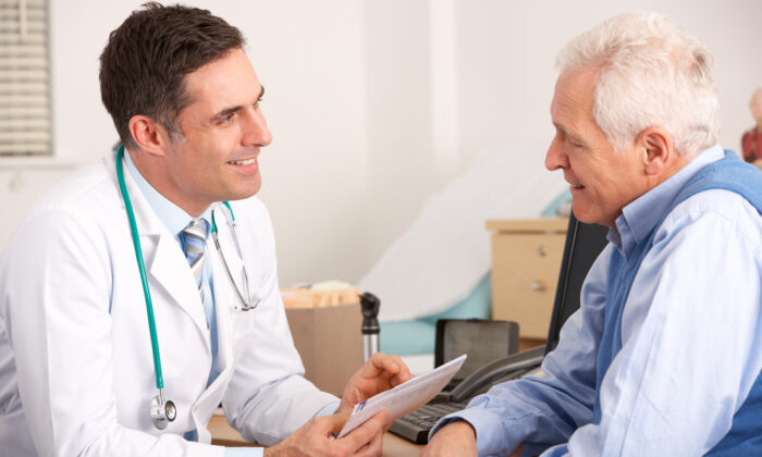 "We always hear about doctors needing a ""good bedside manner."" It's much easier to practice that bedside manner when patients bring humor and understanding into the examining room.  (Shutterstock)"