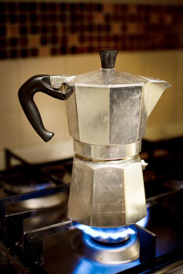 mocha coffee pot