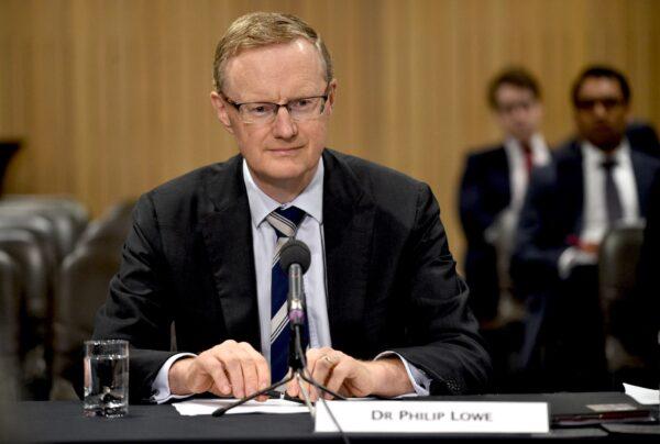 Reserve Bank of Australia Governor Philip Lowe