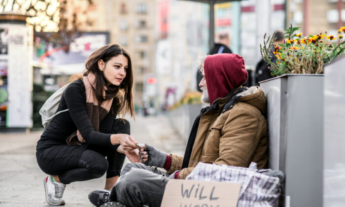 Any truly effective solution for such social ills as homelessness must always involve a willingness that goes two ways, not just one. (Shutterstock)