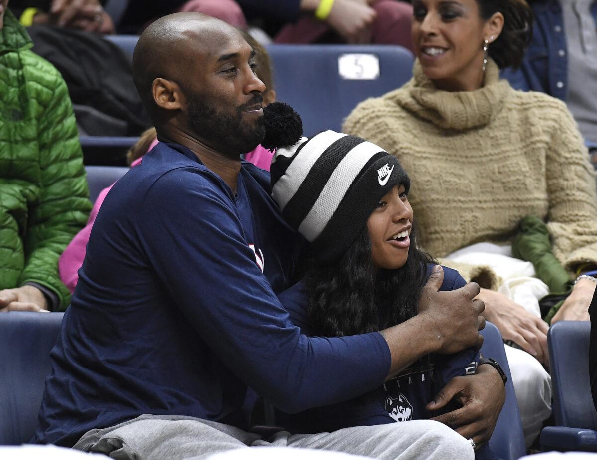Kobe Bryant and Gianna