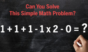 No-Calculator Challenge: Are You Sharp Enough to Solve This Math Problem in Your Head?