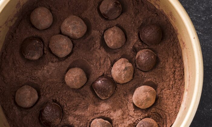 Chocolate truffles, rolled in cocoa, sugar, and spices. (Courtesy of America's Test Kitchen)
