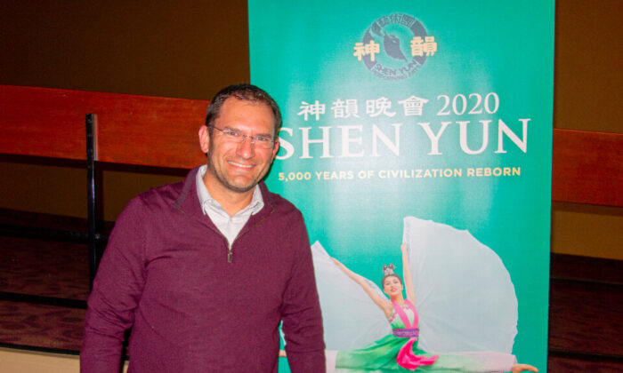 Father and Pediatric Surgery Center Owner Amazed by Shen Yun