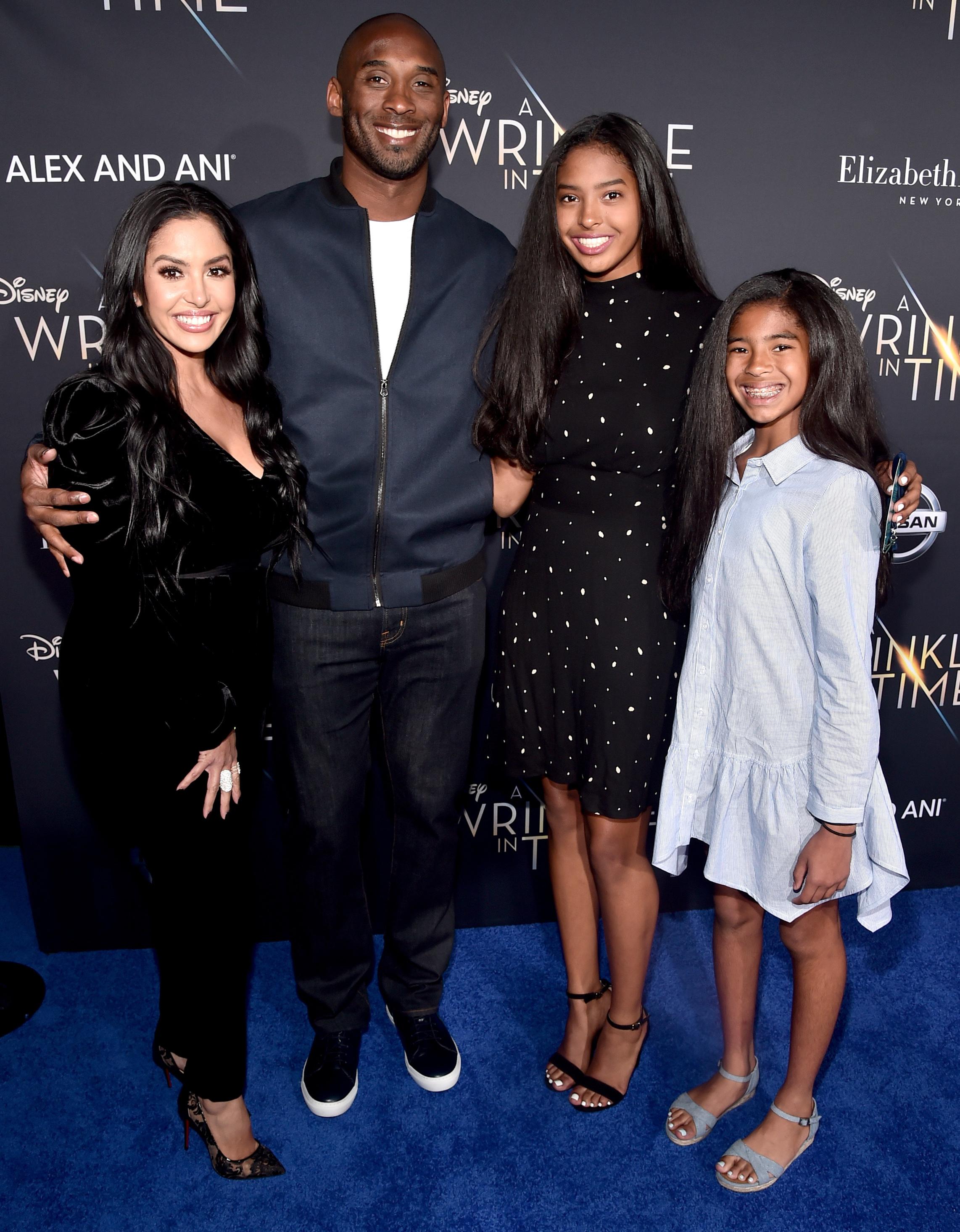 Kobe Bryant's family