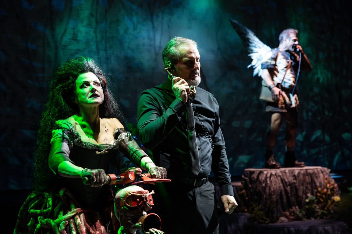 Alison Fraser, David Andrew Macdonald and Lou Liberatore in FPA's production of PARADISE LOST