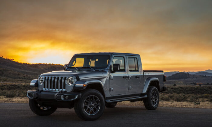 2020 Jeep Gladiator. (Courtesy of Jeep)