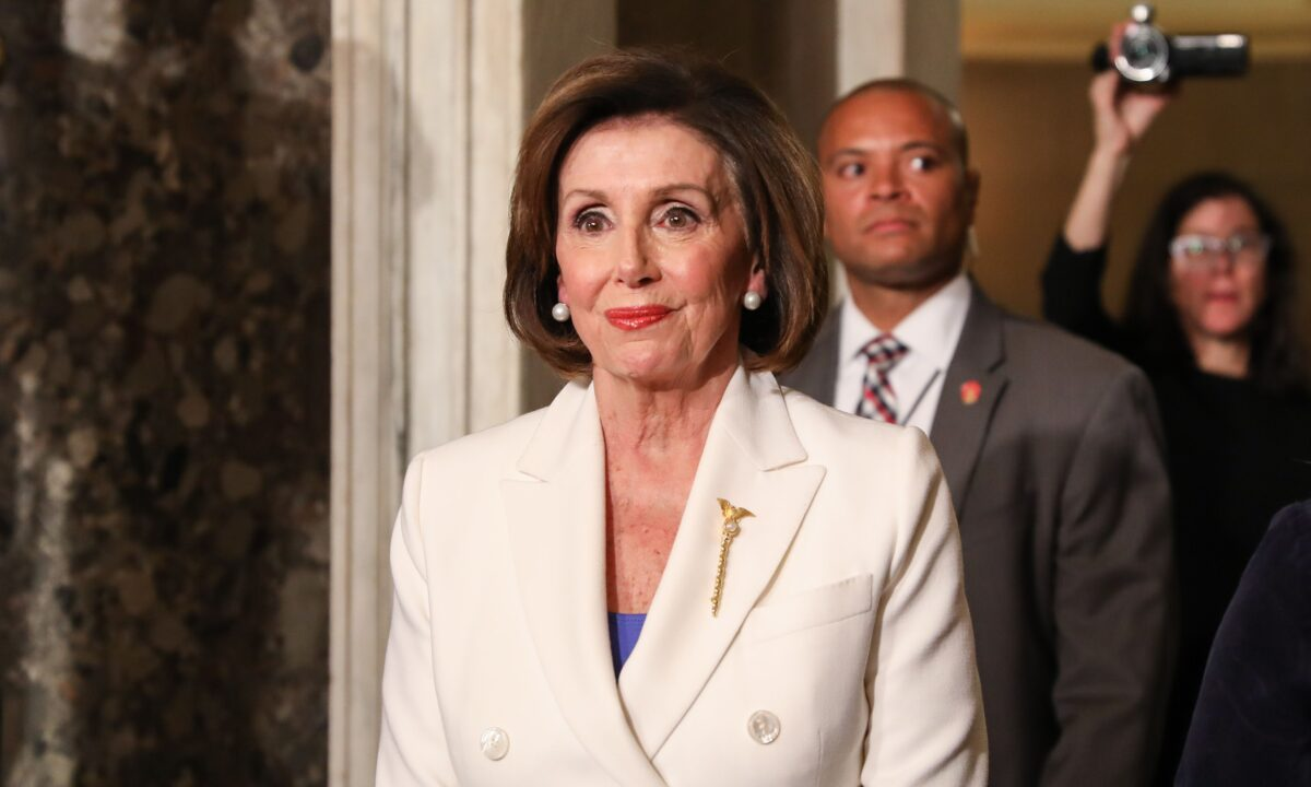 Laptop From Pelosi's Office Stolen During Capitol Breach, Spokesman Confirms