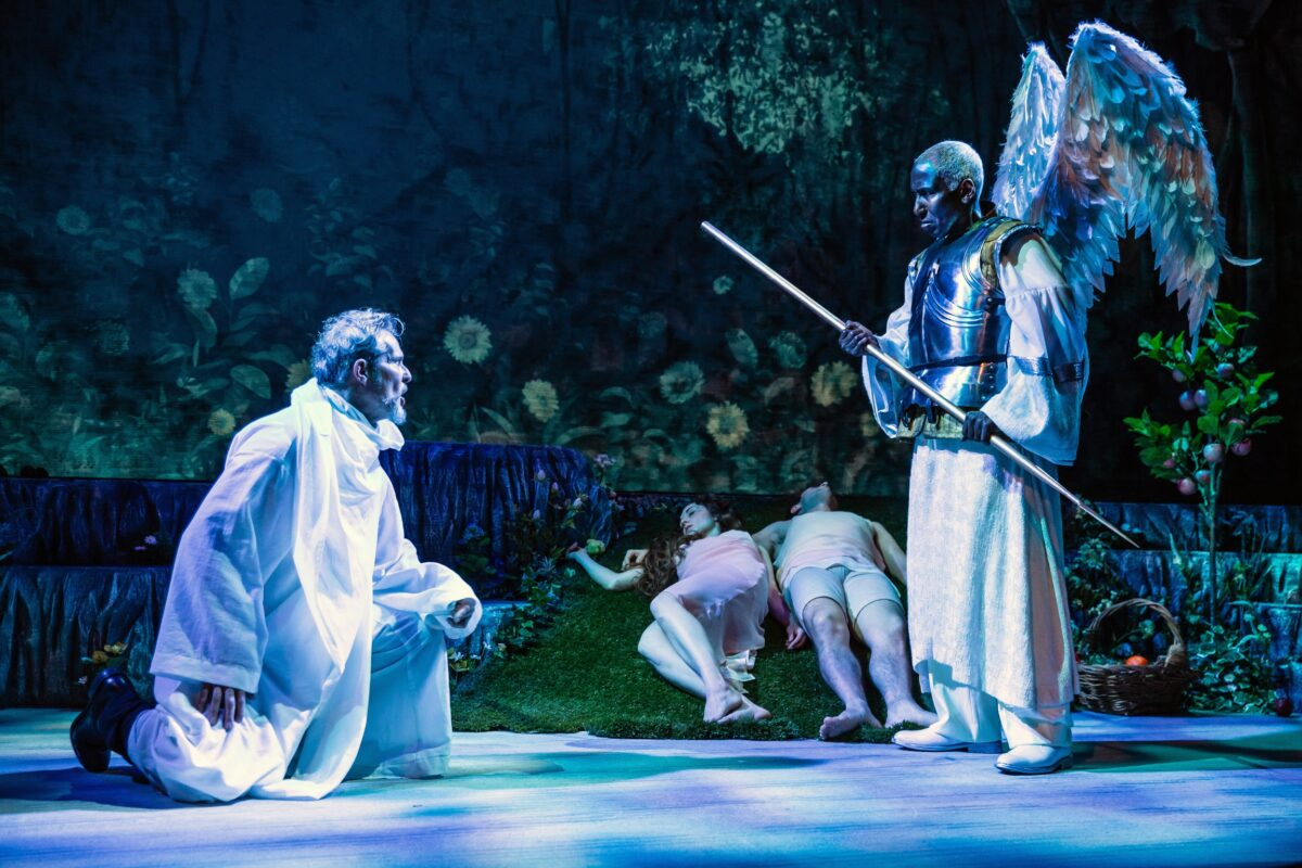 David Andrew Macdonald and Mel Johnson Jr. in FPA's production of PARADISE LOST