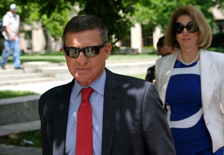 President Donald Trump's former National Security Adviser Michael Flynn