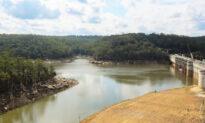Sydney Dam Levels up Amid Downpour