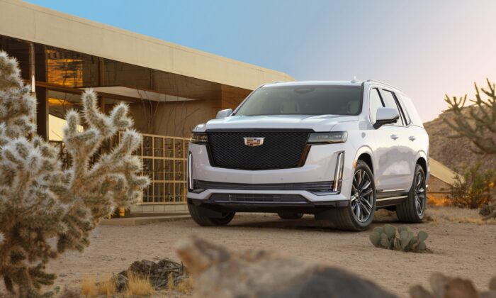 2021 Cadillac Escalade. (Courtesy of Cadillac Canada)
