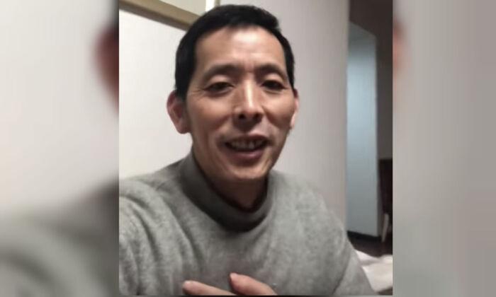 Fang Bin in a video posted on Feb. 4, 2020. (Screenshot/YouTube)
