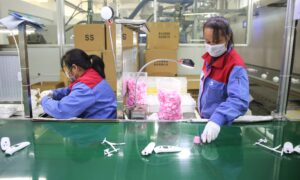 China Factory Activity Unexpectedly Expands, but Economy Cannot Shake Off Virus Shock