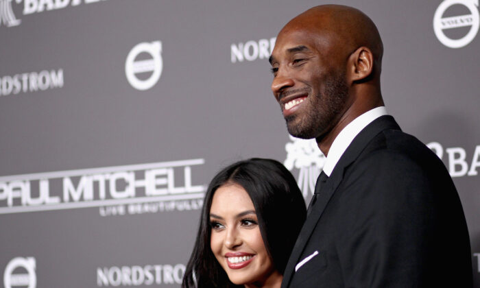 Vanessa Laine Bryant (L) and Kobe Bryant attend the 2018 Baby2Baby Gala Presented by Paul Mitchell at 3LABS in Culver City, Calif., on Nov. 10, 2018. (Tommaso Boddi/Getty Images for Baby2Baby)