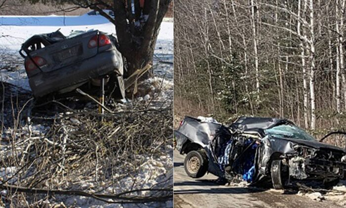 The driver was said to be operating the vehicle without a license.   (Maine State Police)