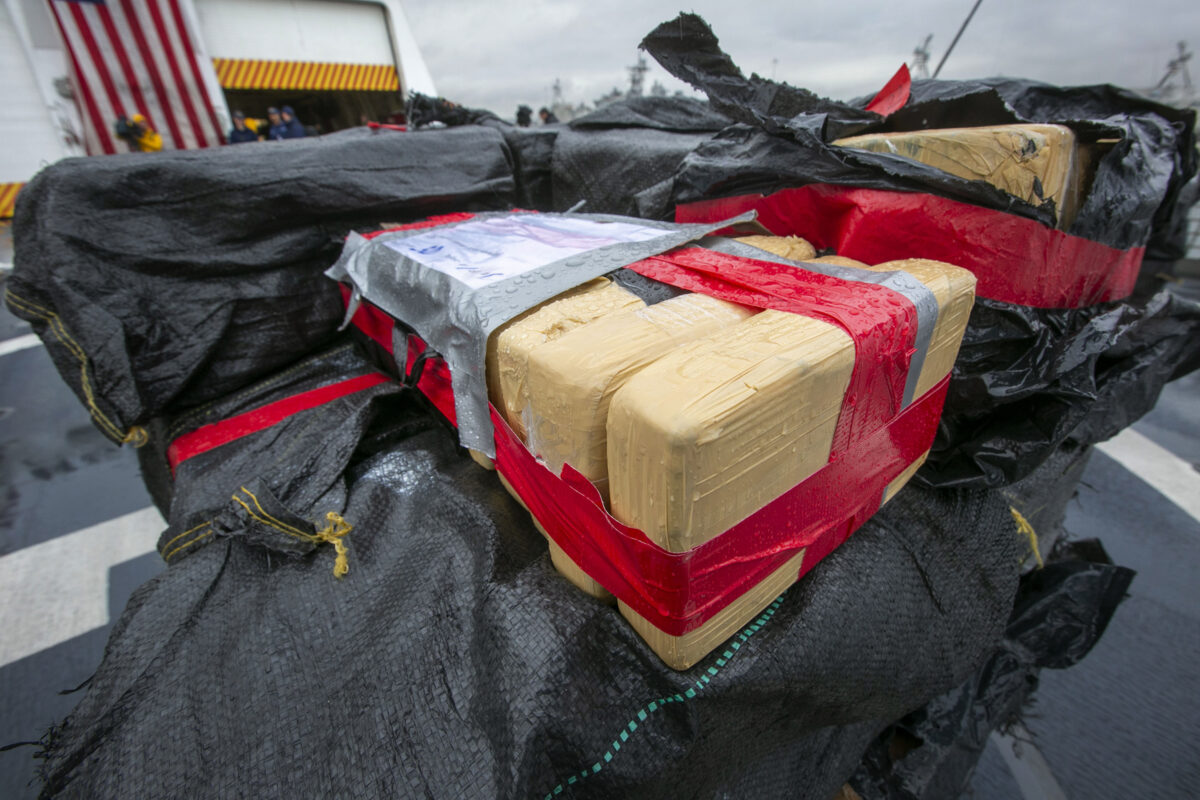Pacific Cocaine Seizures