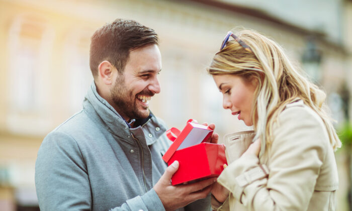Gifts are one of the five love languages that Dr. Chapman uncovered after reviewing years' worth of notes. (Shutterstock)
