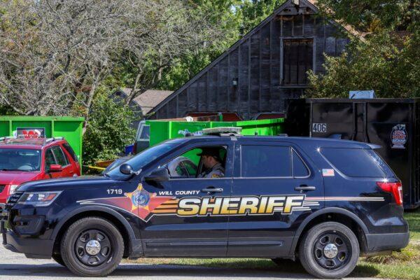 Will County Sheriff's patrol car-Dr. Ulrich Klopfer